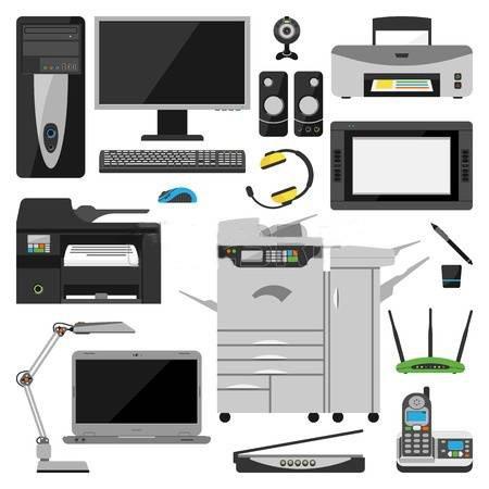 59665921-grupo-de-equipo-de-oficina-port-til-ordenador-monitor-tablet-pc-impresora-teclado-del-tel-fono-intel2